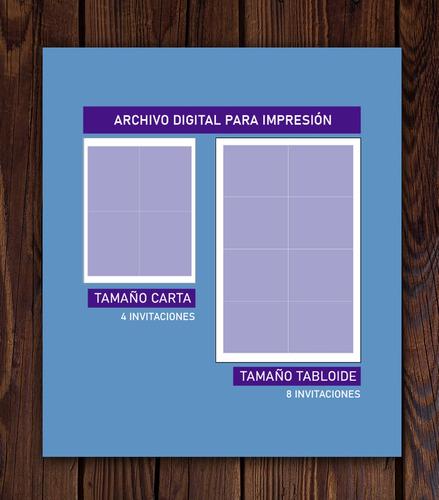 invitación digital para imprimir de toy story