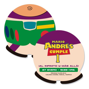 Invitación Digital Toy Story Buzz Lightyear