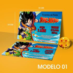 Invitacion Dragon Ball Invitacion Digital Dragon Ball Z