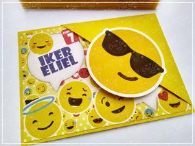 Invitacion Emoji Emoticons Sobre Invitaciones Emojis Faceboo