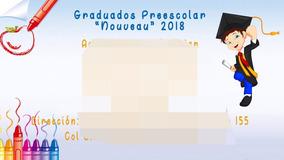 Invitaciones De Graduacion Universidad Invitaciones Y
