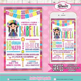 Detalle 10 De Mayo Invitaciones Para Fiestas Por 100 Piezas Nuevo