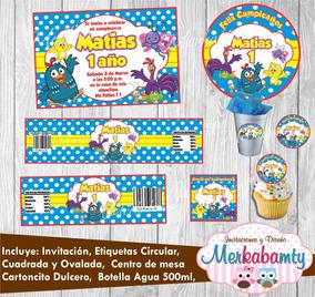 Invitaciones Cumpleanos Infantiles Gallina Pintadita
