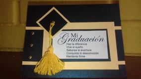 Invitación Graduación Con Birrete Y Sobre De Celofán