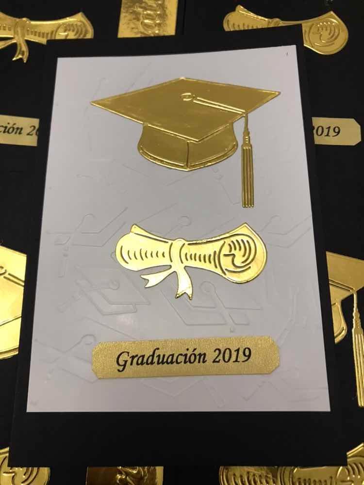 Invitacion Graduacion Escolar Primaria Secundaria 35 Inv 50700