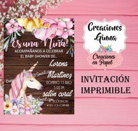 Changuito Baby Shower Invitaciones Y Tarjetas De Cumpleaños