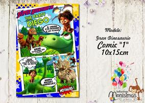 Figuras Un Gran Dinosaurio Invitaciones Y Tarjetas