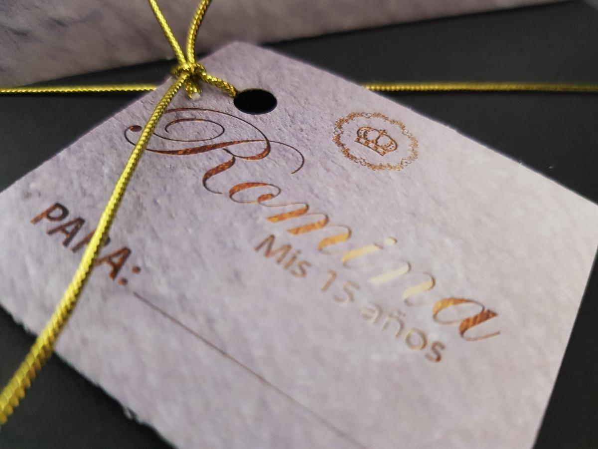 Invitacion Letras Dorado 15 Años Boda Casamiento Con Sobre