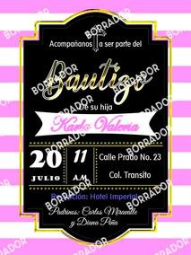 Kit Editable Para Papá Invitaciones Y Tarjetas De Bautizo