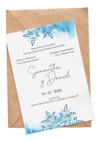 invitación para boda digital