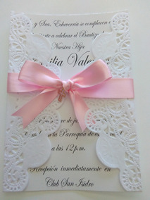 Invitación Para Eventos Religiosos Bautizo Confirmación P