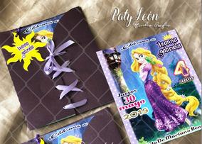Invitacion Rapunzel Enredados Personalizada Cumpleaños