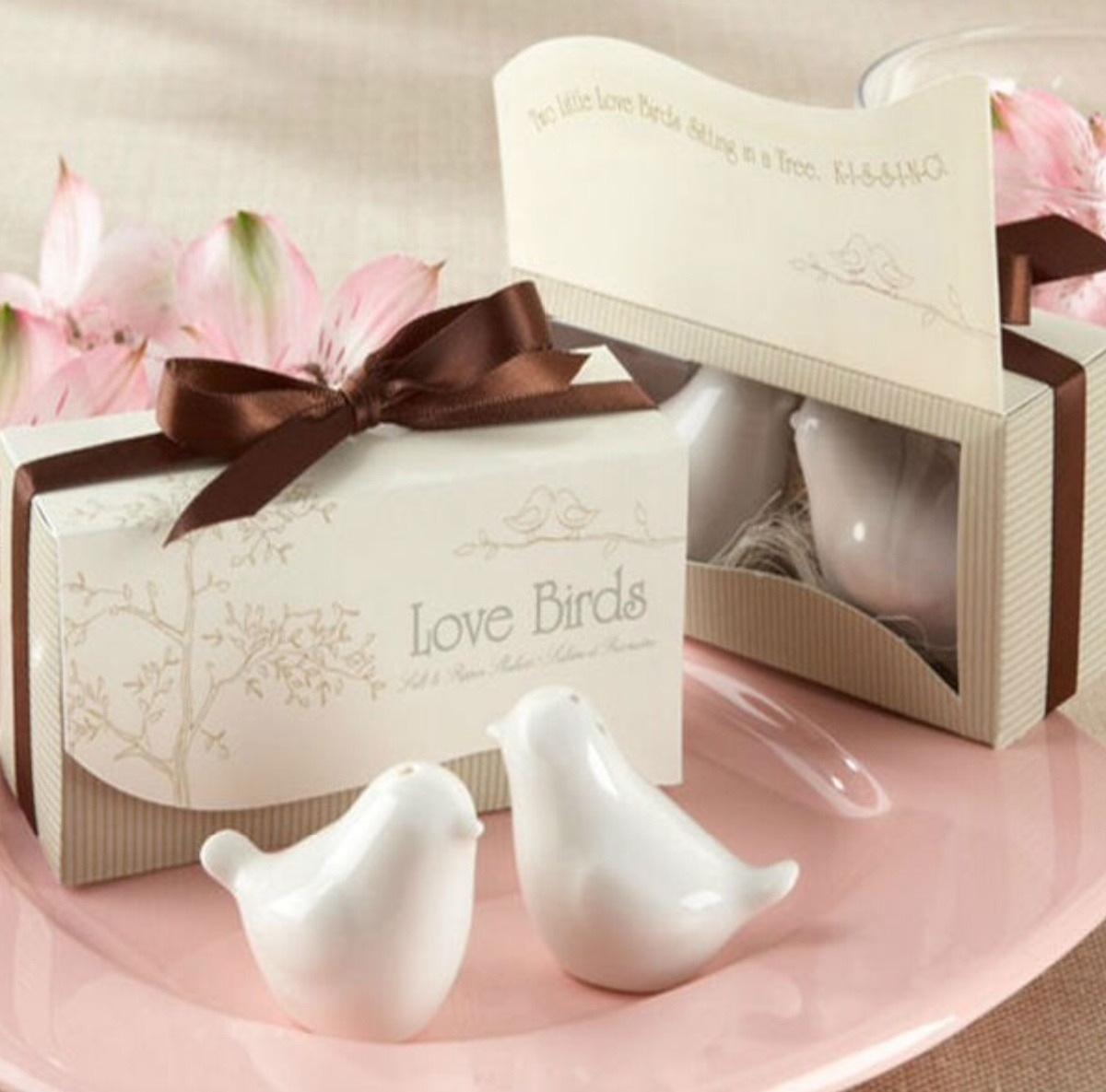Invitacion original recuerdo boda bautizo baby salero - Saleros originales ...