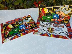Tarjetas De Cumpleaños Superman Invitaciones Y Tarjetas