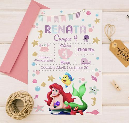 invitacion tarjeta digital whatsapp cumpleaños infantiles