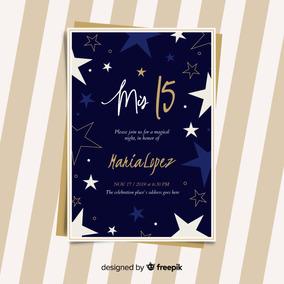 Invitacion Tarjeta Imprimible 15 Años Casamiento Editable076