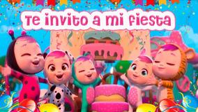 Invitación Vídeo Digital Bebes Llorones De Cumpleaños