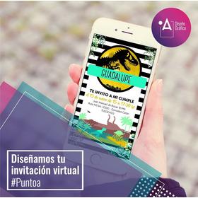 Invitación Virtual / Diseño Para Enviar Por Whatsapp
