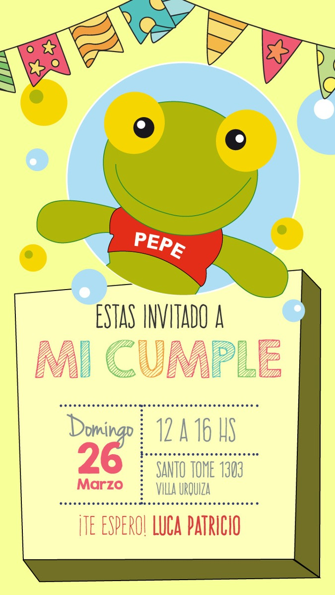 Invitacion De Cumpleanos Saves Wpart Co