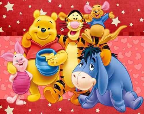 invitaciones 2 de winnie pooh diseñá tarjetas , cumples