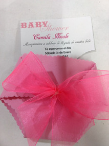 Recuerditos E Invitaciones Para Baby Shower Invitaciones Y