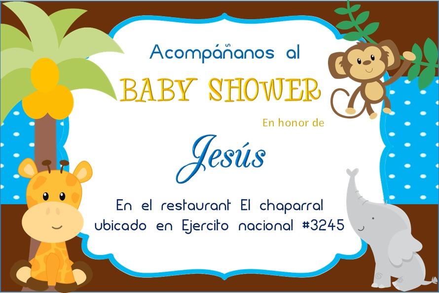 Invitaciones Baby Shower. Cargando Zoom.
