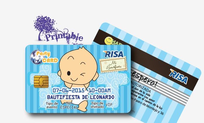 Invitaciones Baby Shower Y Bautizo Originales Tipo Tarjeta
