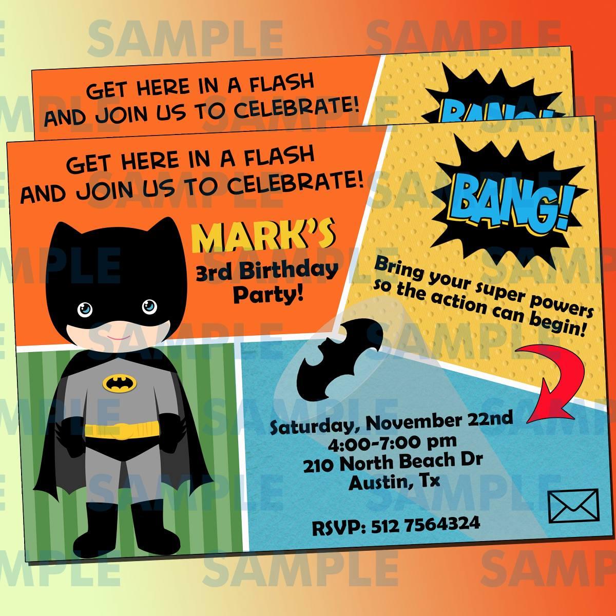 Invitaciones Batman-superheroes-marvel-avengers-comic ...