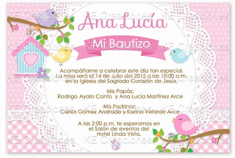 Invitaciones Bautizo Niña Pajaritos Vintage Kit Imprimible - $ 80.00 ...