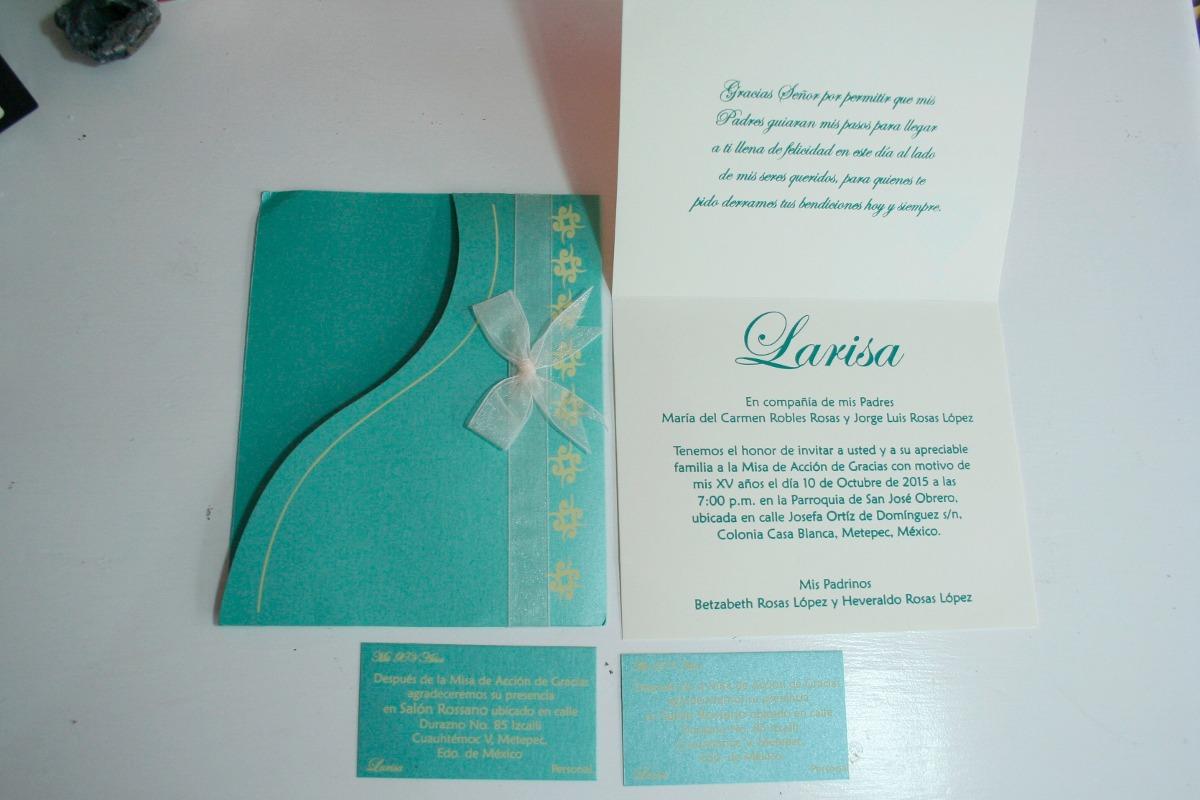 invitaciones boda 15 a u00f1os bautizo confirmacion