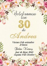 Invitaciones Boda 15 Años Cumpleaños Tarjetas Novedad