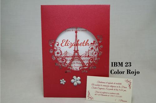 invitaciones boda ibm32 paquete de 50 piezas