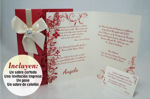 invitaciones boda piezas
