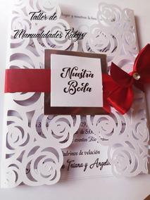 Invitaciones Boda Y Quince Años Finas
