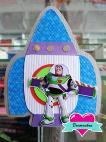 Pañalero Buzz Lightyear Invitaciones Y Tarjetas De