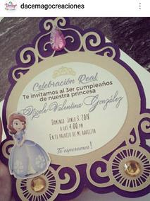 b30690877 Todo Para Fiesta Princesita Sofia - Tarjetas y Papelería para Bebés ...