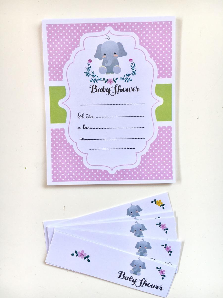 719cbbb08da15 invitaciones con tarjeta souvenir baby shower nena. Cargando zoom.