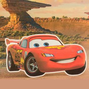 Invitaciones Cumpleaños Cars Figura De Rayo Mcqueen