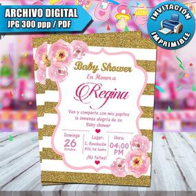 Diseños Tarjetas Invitaciones Y Tarjetas Baby Shower Nuevo
