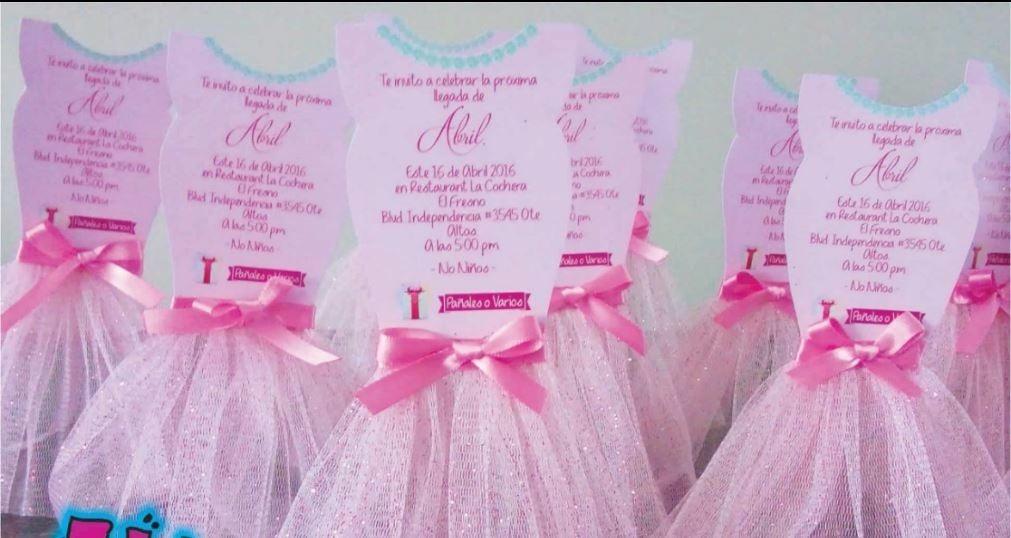 Invitaciones De Baby Shower Personalizadas Imprimibles 7000 En