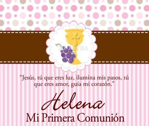 invitaciones de bautizo primera comunion presentacion