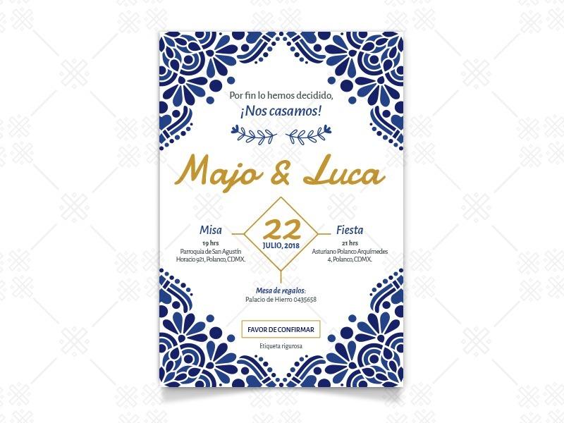 invitaciones digitales boda cumple xv primera comunion