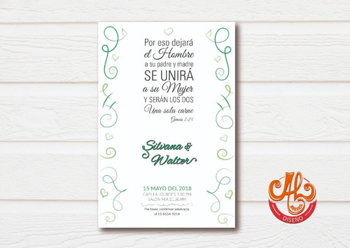 invitaciones digitales - diseños originales