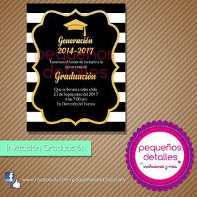 Invitaciones Digitales Graduación