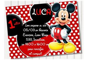Invitaciones Digitales Mickey
