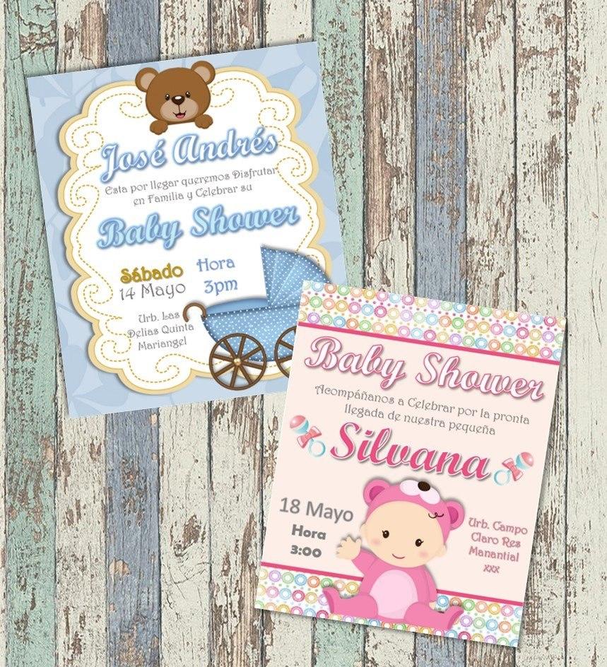 174e5020ed284 invitaciónes digitales personalizadas baby shower. Cargando zoom.