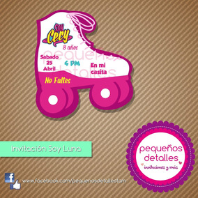 Invitaciones Digitales Soy Luna