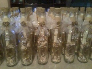 invitaciones en botellas de cristal para boda en mercado libre. Black Bedroom Furniture Sets. Home Design Ideas