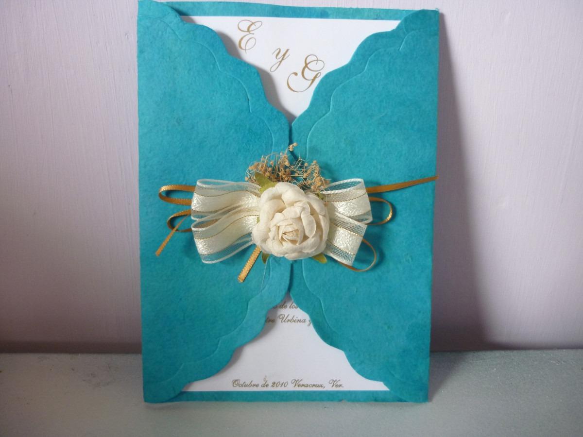 Invitaciones en papel artesanal a todo color para bodas xv en mercado libre for Como buscar distribuidores