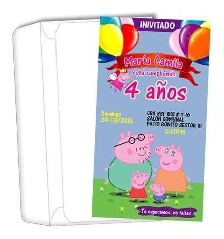 invitaciones fiesta de cumpleaños pocoyo niño o niña